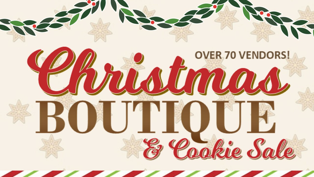 Annual Christmas Boutique and Cookie Sale