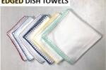 Edged Dish Towels