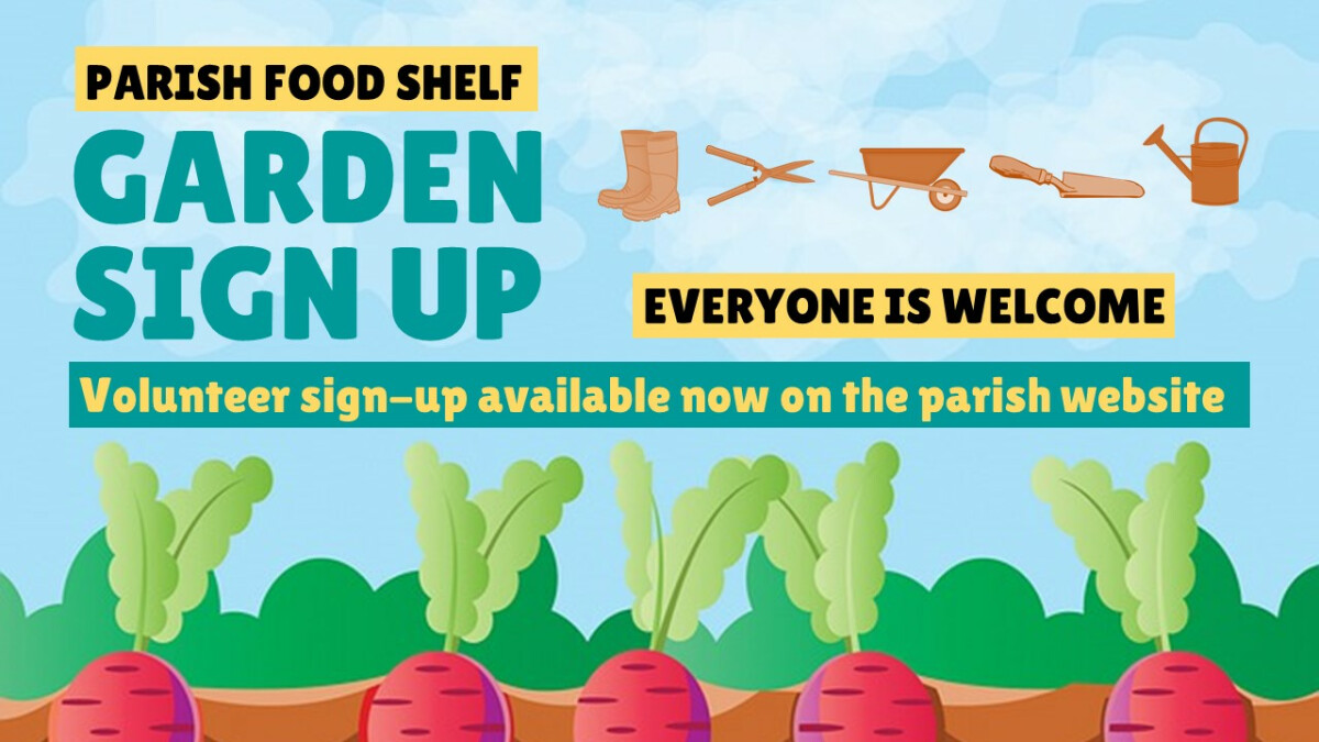 Food Shelf Garden Opening Day