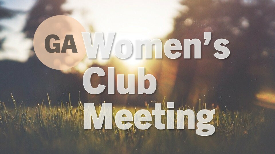 Women's Club - In Person & Zoom